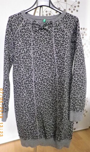 Sweatkleid Animalprint