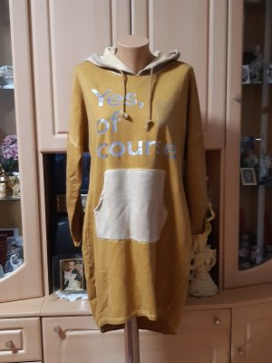 Made in Italy Robe Sweat brun sable