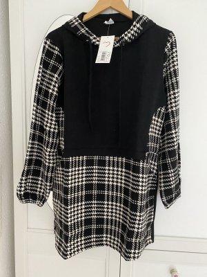 Tofisa Tunic Dress black-white cotton