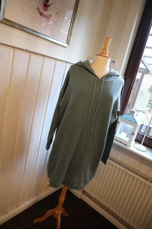 Sweat Dress green-dark green cotton