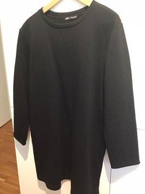 Sweatkleid schwarz