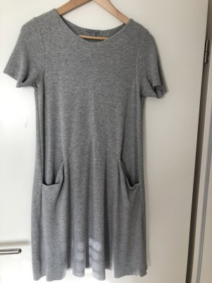 COS Sweat Dress grey cotton