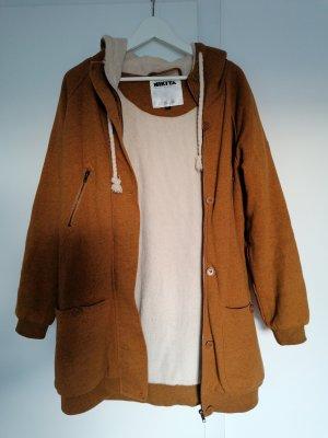 Nikita Oversized Coat ocher