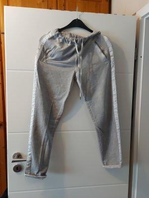 Made in Italy Spodnie dresowe jasnoszary