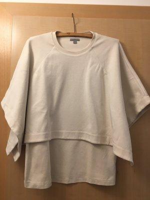 COS Jersey de cuello redondo crema