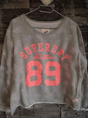 Superdry Suéter gris claro