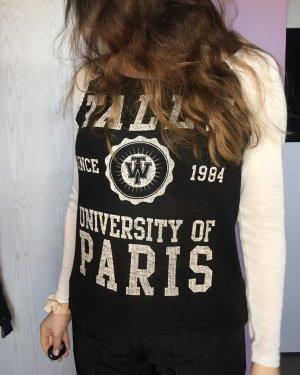Tally Weijl Suéter negro-blanco