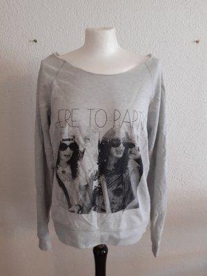 Suéter gris claro