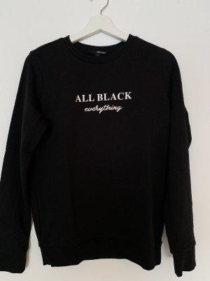 schwarzes sweatshirt gr s