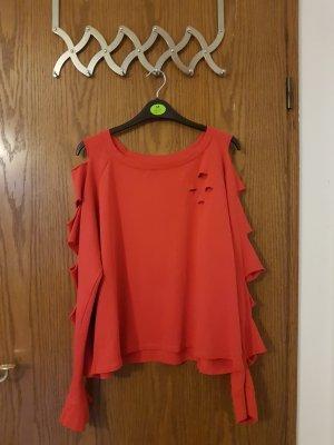 Blind Date Camisa acanalada rojo