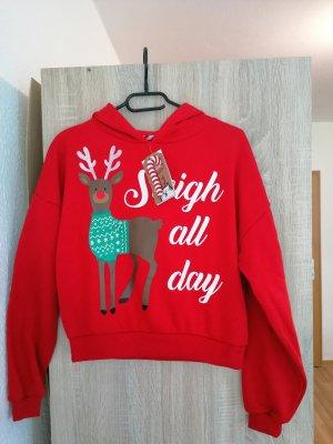 Sinsay Sweatshirt rouge