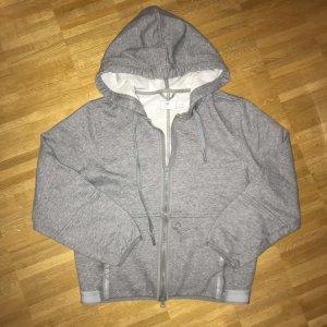 Adidas by Stella McCartney Veste sweat gris clair-gris