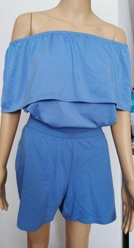 Limited by Tchibo Carmen shirt korenblauw