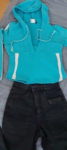 keine Hooded Shirt baby blue