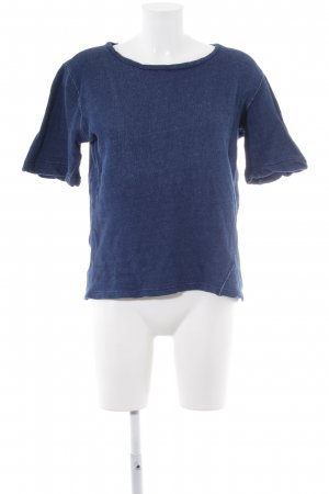 Sweatshirt blau Casual-Look