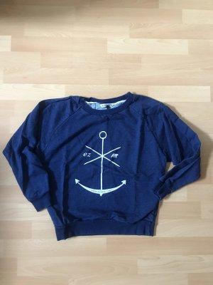 Sweatshirt Blau Gr. XS