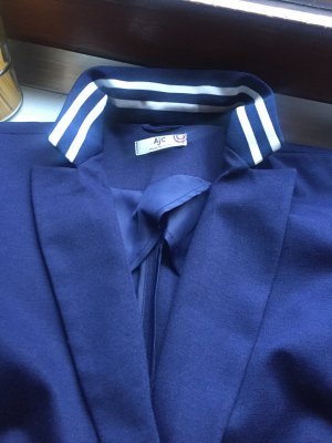 AJC Sweat Blazer dark blue cotton
