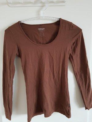 Sweatshirt, braun, Only, Größe S