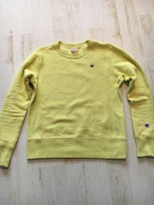 Champion Bluza dresowa limonkowy żółty Bawełna