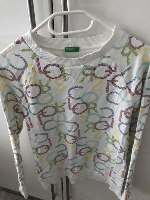 Benetton Sweatshirt veelkleurig