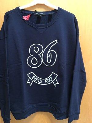 Sweatshirt, dunkelblau , Scotch&Soda, Gr2
