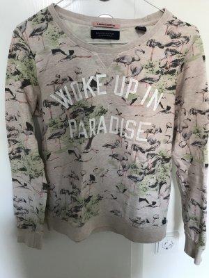 Sweatshirt Flamingos Scotch&Soda Größe 34