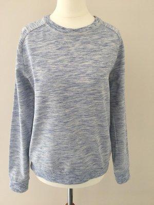 Sweatshirt, Gr.S, H&M, hellblau melliert