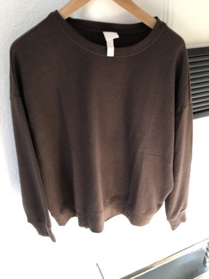 H&M Suéter marrón oscuro