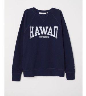 Sweatshirt Hawaii blau Gr. S 36