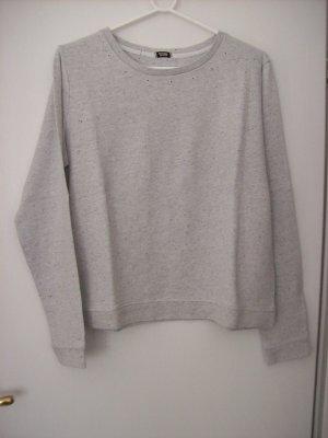 Sweatshirt hellgraumeliert von Pimkie