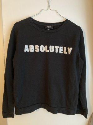 Sweatshirt in dunkelblau von Mango, Gr. M