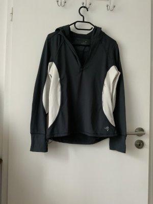 Tchibo / TCM Sweat Shirt anthracite-white polyester