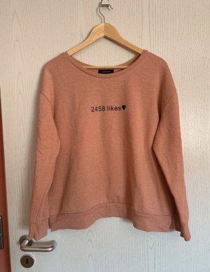 Primark Sweatshirt roze-zwart