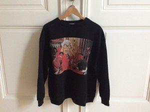 Zara Sweatshirt multicolore coton