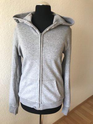 Veste chemise gris clair