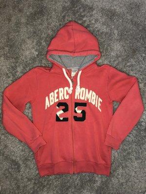 Abercrombie & Fitch Chaqueta estilo camisa rojo claro