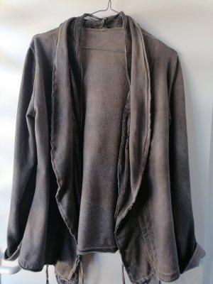 aus Italien Shirt Jacket grey brown