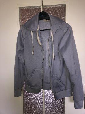 Pull & Bear Sweat Jacket azure
