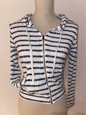 Abercrombie & Fitch Veste chemise blanc-noir