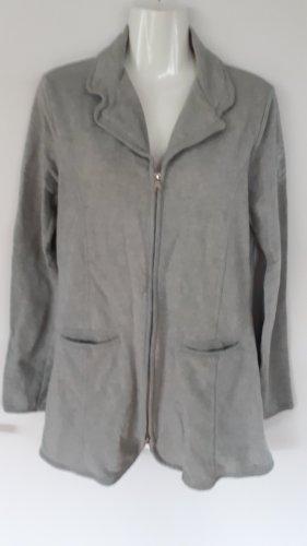Polo sylt Long Jacket light grey