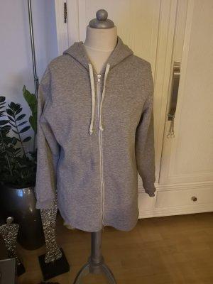 Sweatshirt Jacke hellgrau