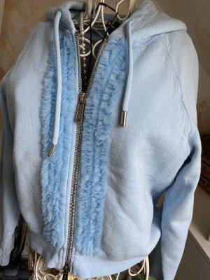 Sweatshirt Jacke von Dsquared2 in Hellblau