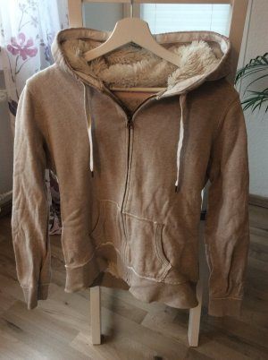 H&M Hoody natural white-beige