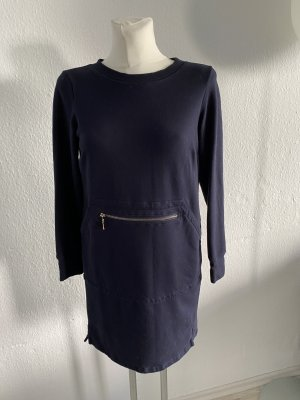 Sweatshirt Kleid Piu Piu Dunkelblau Navy 38 lässig edel