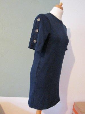 Sweatshirt Kleid Tokyo Angel Gr. 8 marine mit Knöpfen