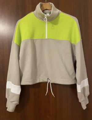 Monki Suéter amarillo neón-beige