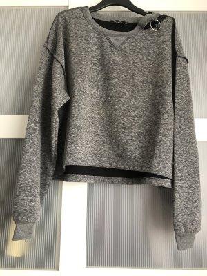 Keine Marke Sweat Shirt grey-black