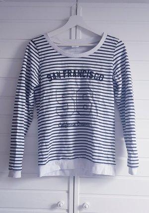 Sweatshirt Marine Streifen