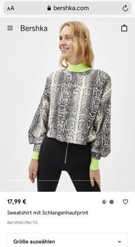Sweatshirt mit Animal print