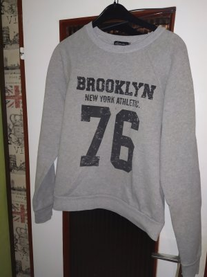 Sweatshirt mit Brooklyn Print